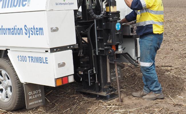 Trimble Ag Soil Information System